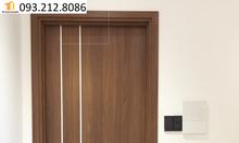 Cửa căn hộ khu Merita Khang Điền q.9 cửa gỗ MDF Melamine hiện đại