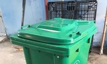 Thùng rác 240L - thùng đựng rác - thùng rác công cộng