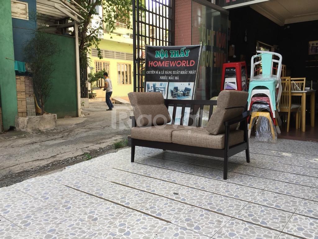 Sofa vải tháo ra giặt được - Hàng xuất khẩu Nhật