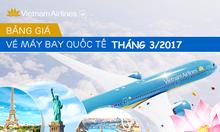 Vé giá rẻ đi quốc tế VietNam Airlines