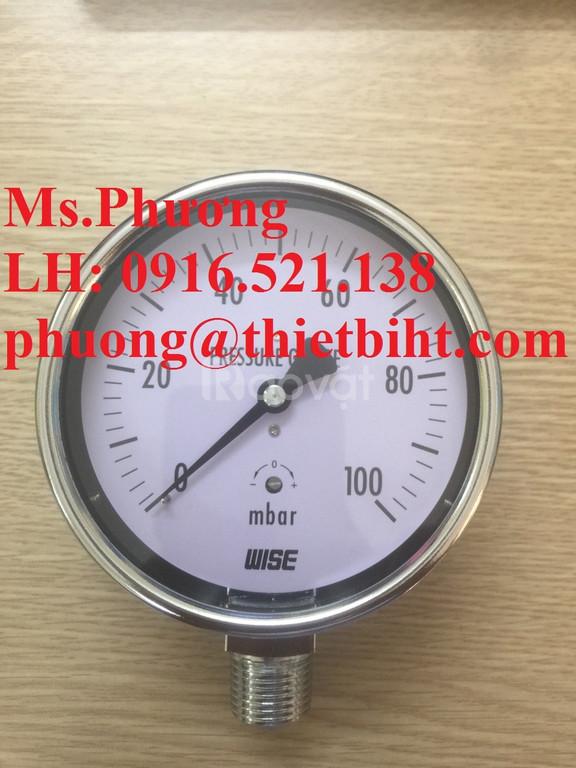 Đồng hồ áp suất Wise P440 series