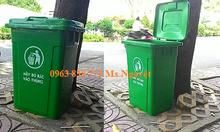 Thùng rác nhựa 95L - Thùng rác nhựa 90L - Bán thùng rác nhựa