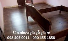 Nhựa vân gỗ lót sàn thảm chống cháy dày 1.2mm giá rẻ