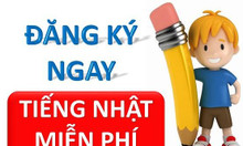 Miễn phí khóa học tiếng Nhật tại Đà Nẵng