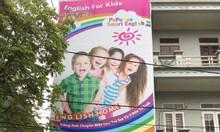Mở trung tâm anh ngữ trẻ em dưới hình thức nhượng quyền