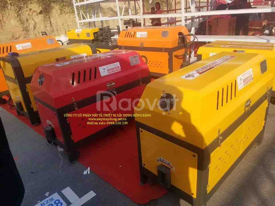 Máy nắn và cắt sắt GT5-12 nắn cắt sắt đai tự động