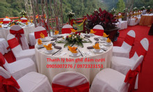 Thanh lý bàn ghế đám cưới và vật dụng đám cưới