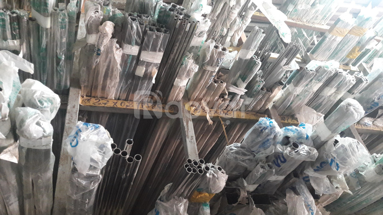 Ống inox trang trí giá rẻ Fi 60 x 1.5 x 6000/ bóng/ Việt Nam