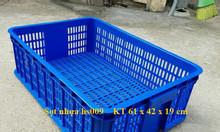 Sọt nhựa hs009, thùng nhựa rỗng hs009, sọt nhựa giá rẻ hs009