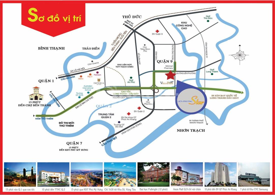 Bán nhà phố Liên Phường Star giá đầu tư tại đường Liên Phường, Phú Hữu
