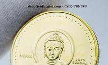 Tiền xu hình Đức Phật Thích Ca của Nepal