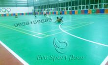Thảm sàn thể thao lót trường học, nhà thi đấu