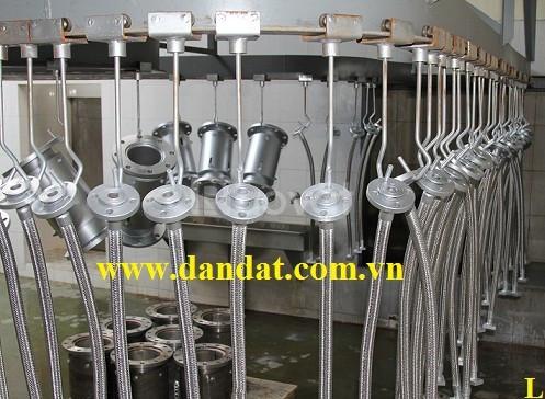 Ống luồn dây điện bọc nhựa pvc khớp nối mềm chống rung khớp co giãn
