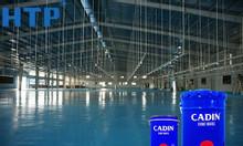 Dùng sơn Epoxy để sơn sàn nhà xưởng, sơn Epoxy Cadin chất lượng