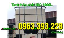 Bồn nhựa hóa chất, tank IBC 1000L