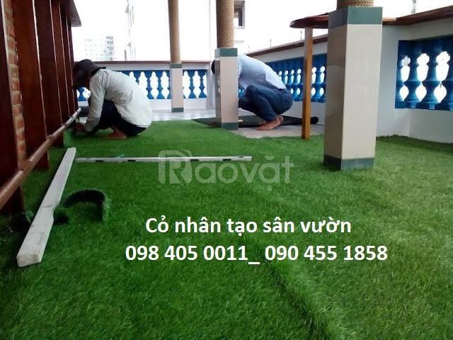 Cỏ nhân tạo cỏ giả trang trí nội ngoại thất giá rẻ (ảnh 1)