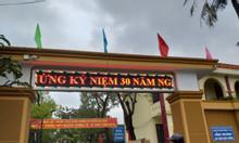 Thi công biển led tại trường THPT Nguyễn Trường Tộ, Tp. Vinh