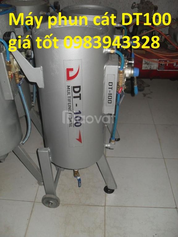 Máy phun cát khô DT100 giá thương mại (ảnh 1)