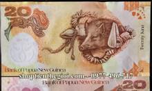 Tiền lì xì tết hình con heo của Papua Newguinea