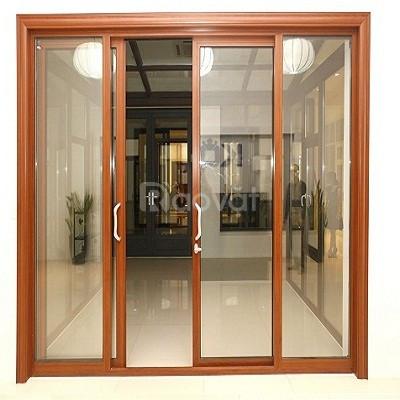 Sửa cửa nhôm kính dạo tại nhà Quận 10 - Dân Tiến
