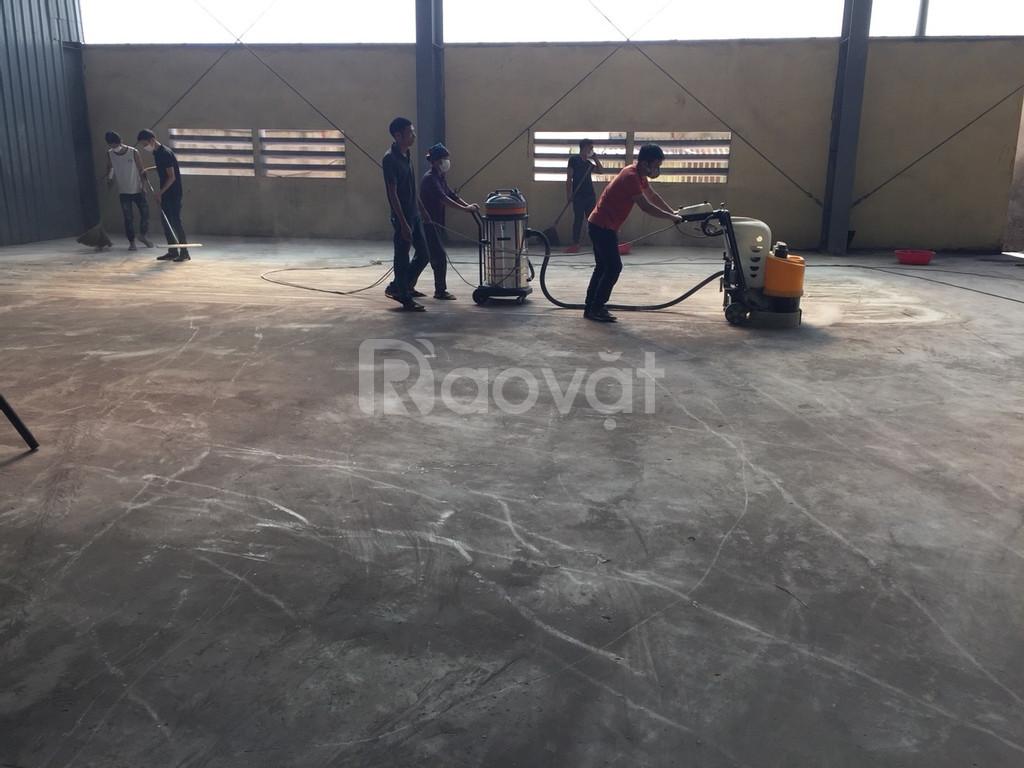 Dịch vụ đánh bóng sàn bê tông
