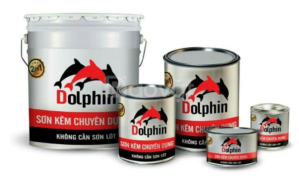 Tìm đại lý phân phối sơn kẽm chuyên dụng Dolphin