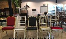 Các dòng ghế sử dụng trong tiệc cưới mới hiện nay