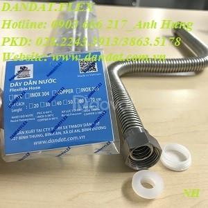 Bán ống dẫn nước nóng lạnh inox, dây cấp nước, dây dẫn nước inox
