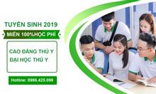 Tuyển sinh lớp sơ cấp thú y mở phòng khám thú y tại Hà Nội 2019