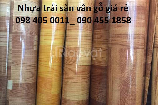 Địa chỉ bán thảm nhựa trải sàn vân gỗ (ảnh 1)