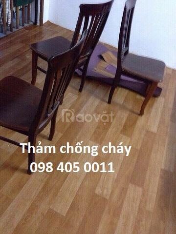 Bán thảm nhựa vân gỗ giá rẻ Hà Nội