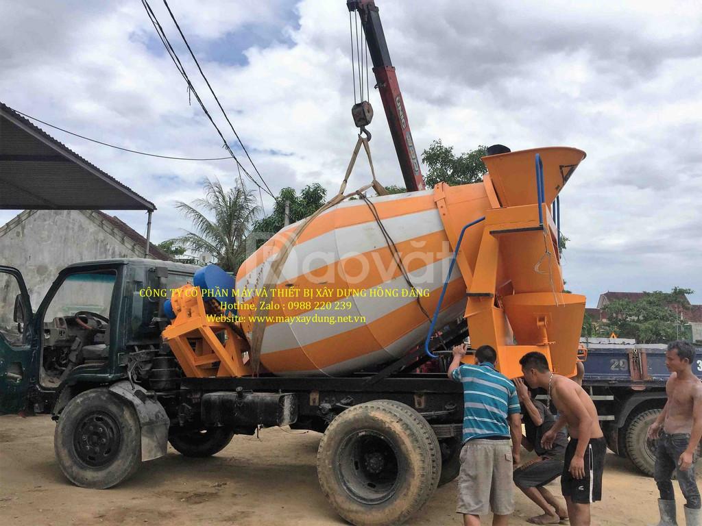 Bồn trộn bê tông HYG3 giao hàng toàn quốc