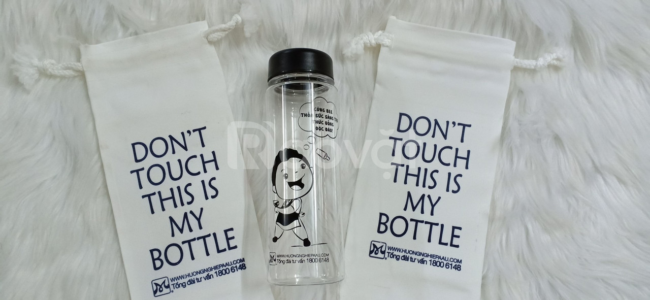 Bình My Bottle in logo theo yêu cầu