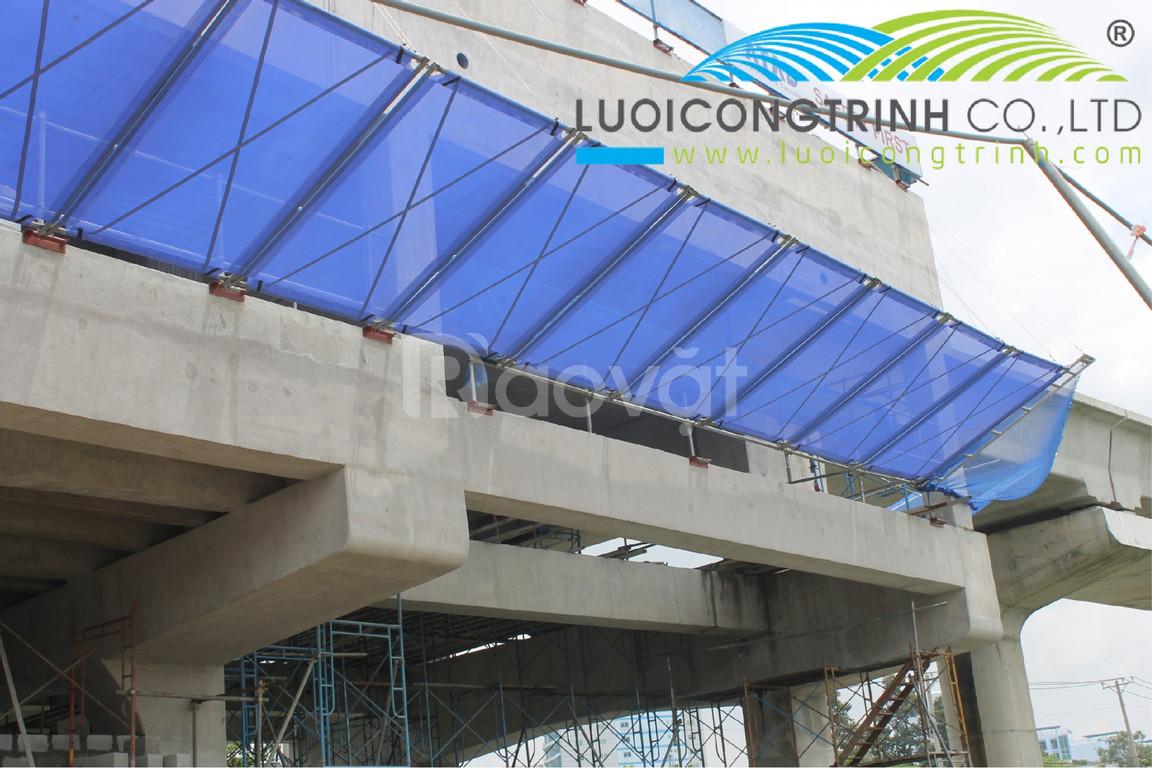 Lý do các công trình xây dựng luôn phải mặc áo lưới