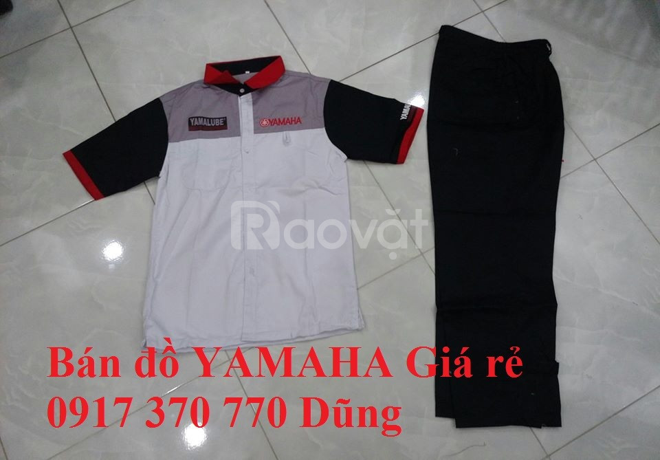 Quần áo sửa xe máy Yamaha sỉ lẻ giá rẻ giao toàn quốc (ảnh 1)