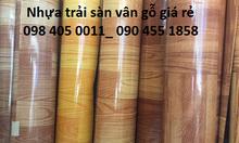 Nhựa simili giả gỗ, nhựa trải sàn giá rẻ