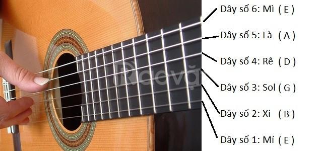 Mở lớp dạy đàn guitar acoustic va classic