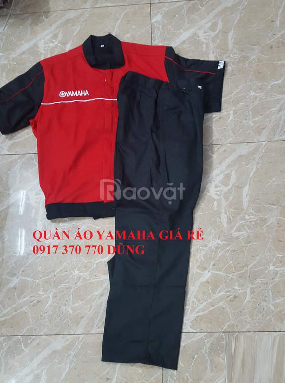 Chuyên sản xuất đồng phục sửa xe máy giá rẻ