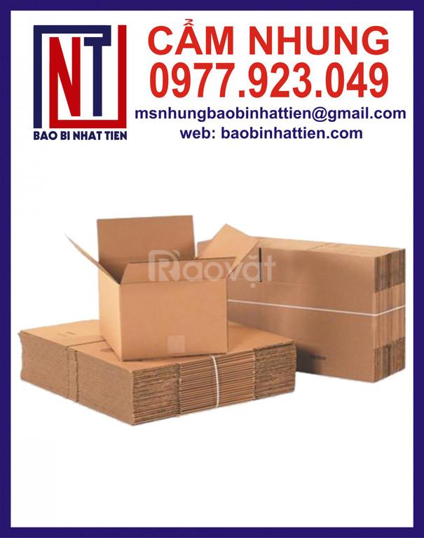 Bao bì carton cao cấp sản xuất thùng carton