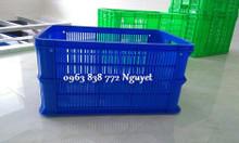 Rổ nhựa đựng trái cây - rổ nhựa nhựa dùng trong kho lạnh