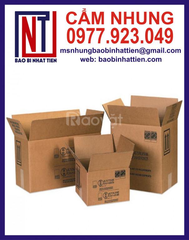 Hộp carton giá rẻ, cơ sở sản xuất hộp carton