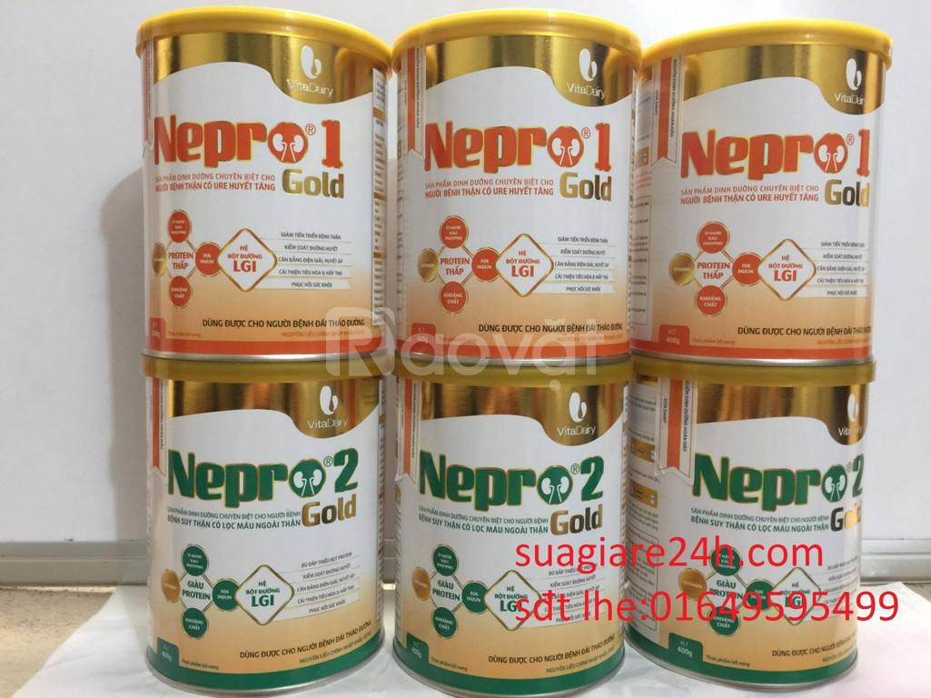Sữa nepro 1 Gold dành cho người bệnh thận