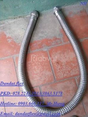 Ống luồn dây điện bọc nhựa pvc + ống ruột gà và lưới bện inox