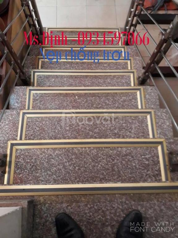 Nẹp chống trơn cầu thang, nẹp cầu thang, nẹp đẹp giá sỉ PTM