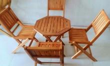 Thanh lý bàn ghế cafe giá rẻ tpHCM, thanh lý bộ bàn ghế gỗ xếp