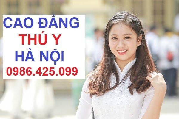 Tuyển sinh cao đẳng Thú Y Hà Nội miễn 100% học phí năm 2019
