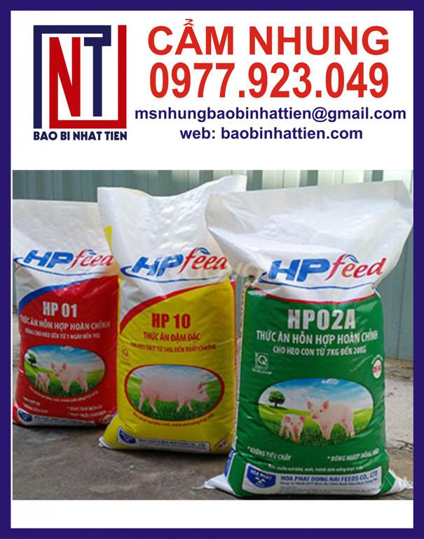 Bao PP dệt đựng thức ăn thủy sản
