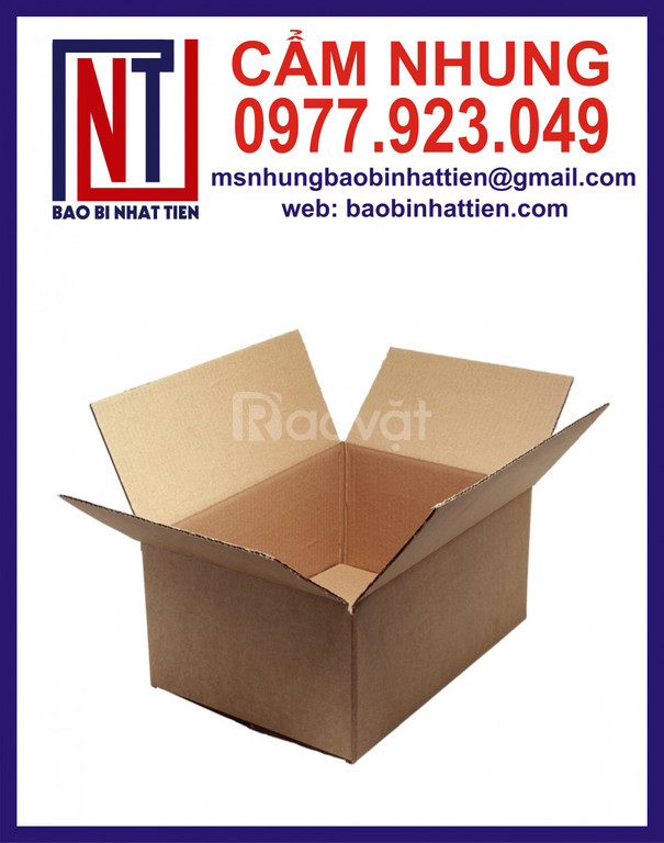 Cung cấp thùng carton giá rẻ, xưởng sản xuất hộp carton (ảnh 5)