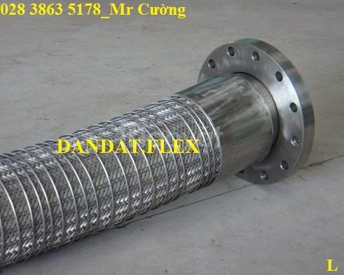 Ống mềm nhúng nóng khớp nối mềm nối bích dùng trong nhà máy luyện thép