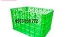 Rổ nhựa công nghiệp - bán các sóng nhựa giá rẻ. (ảnh 1)
